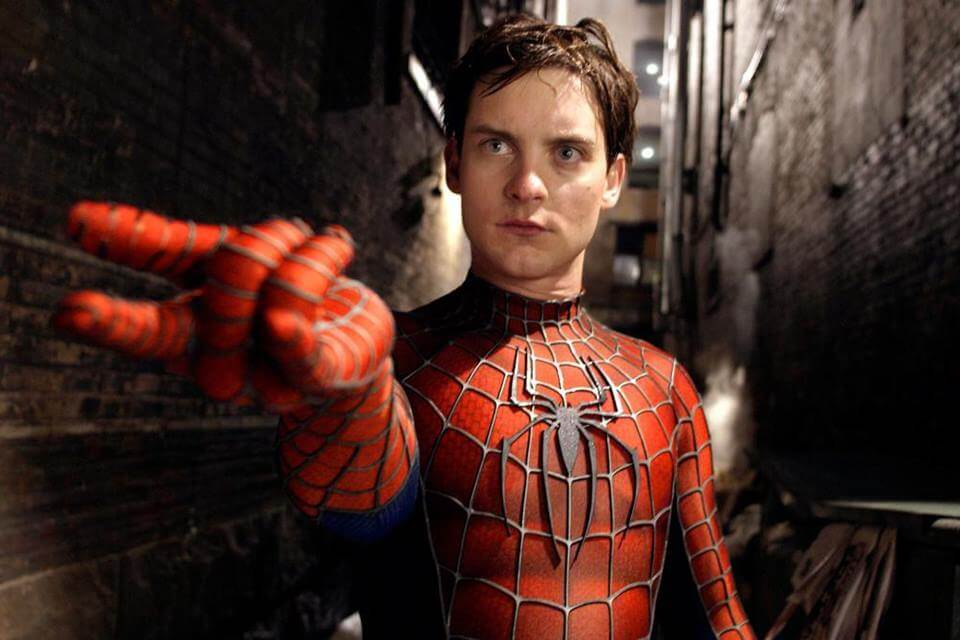 foto da cena do filme homem aranha de 2004