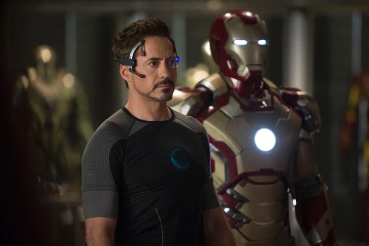foto da cena do filme homem de ferro III