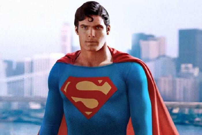 foto da cena do filme superman