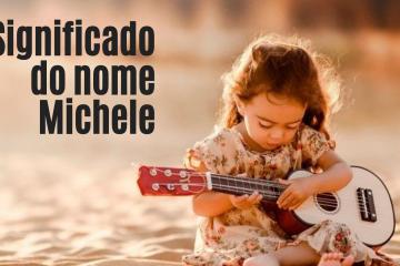 foto escrita significado do nome michele