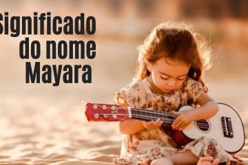 foto escrita significado do nome mayara
