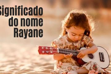 foto escrita significado do nome rayane