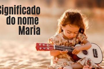 foto escrita significado do nome Maria
