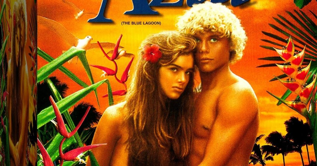 capa do dvd do filme lagoa azul