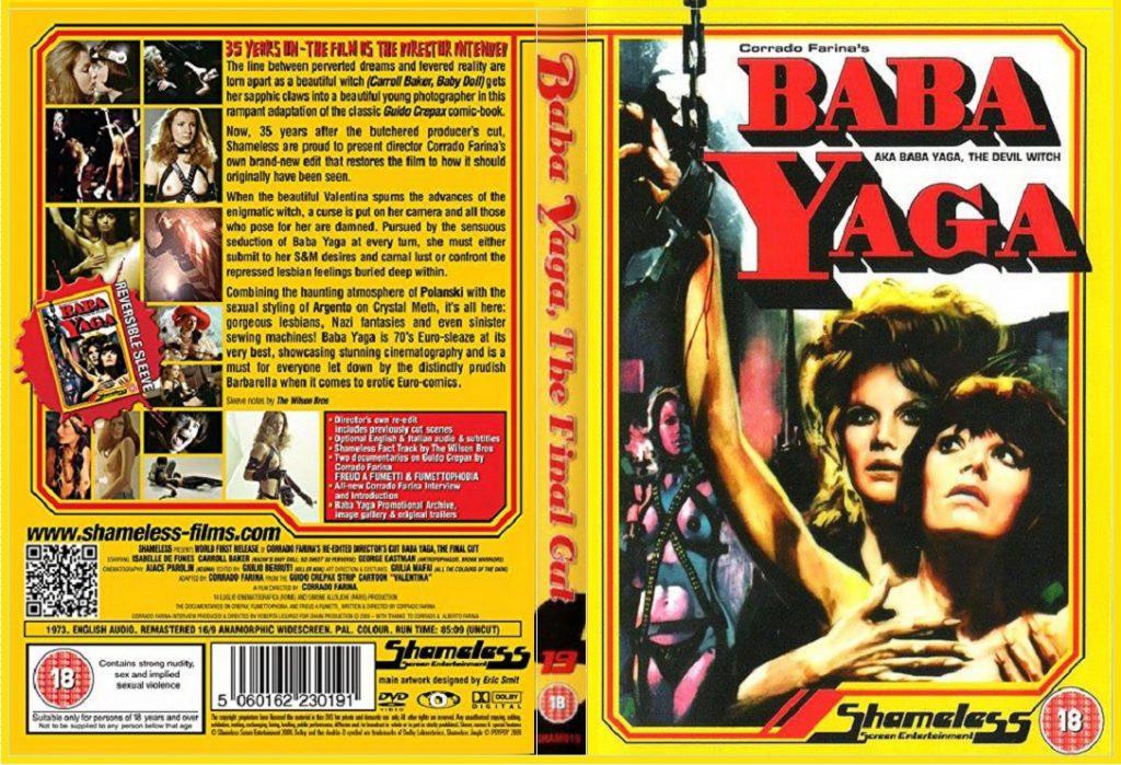 filme de bruxa - Baba Yaga a bruxa maldita