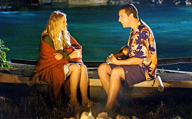 protagonistas do filme como se fosse a primeira vez em uma das cenas principais e mais romanticas