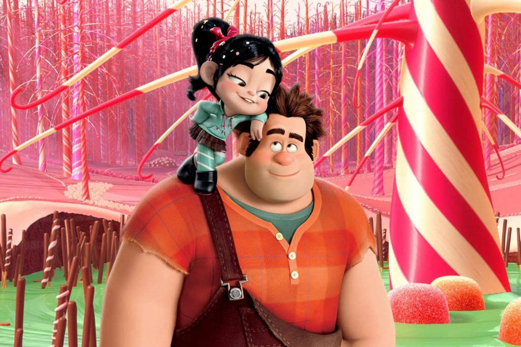 protagonistas do desenho animado Detona-Ralph