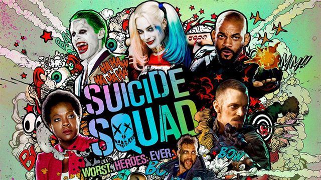 desenho do filme esquadrão suicida