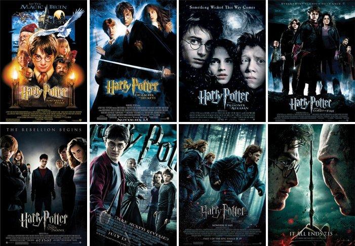 filmes de harry potter