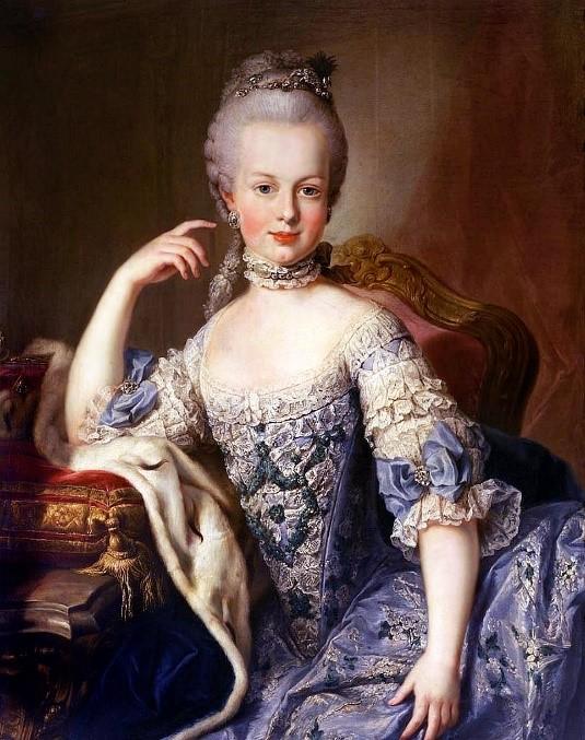 foto da famosa Maria Antonieta