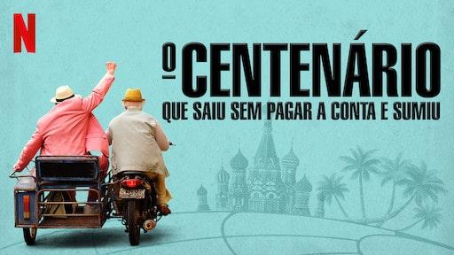 capa do filme o centenário que saiu sem pagar e nunca mais voltou
