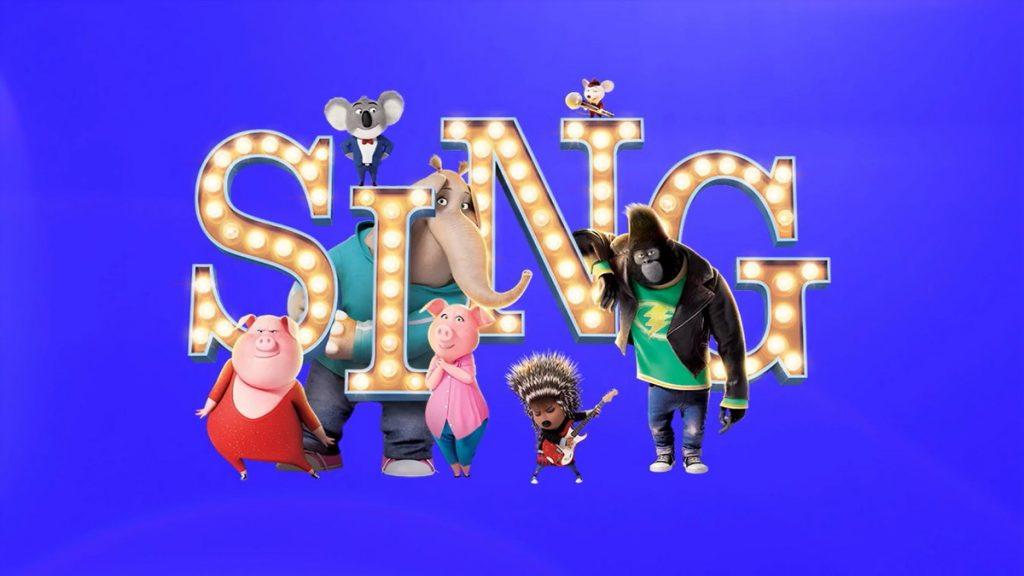 filme sing - Quem canta seus males espanta