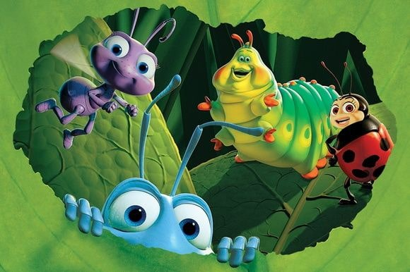 personagens do filme vida de inseto