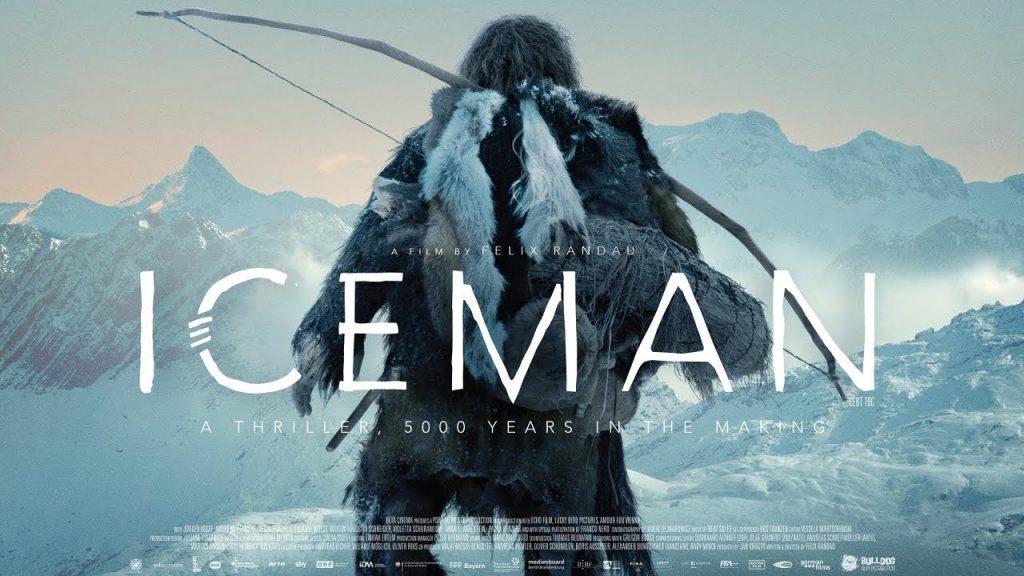 capa do filme ice man