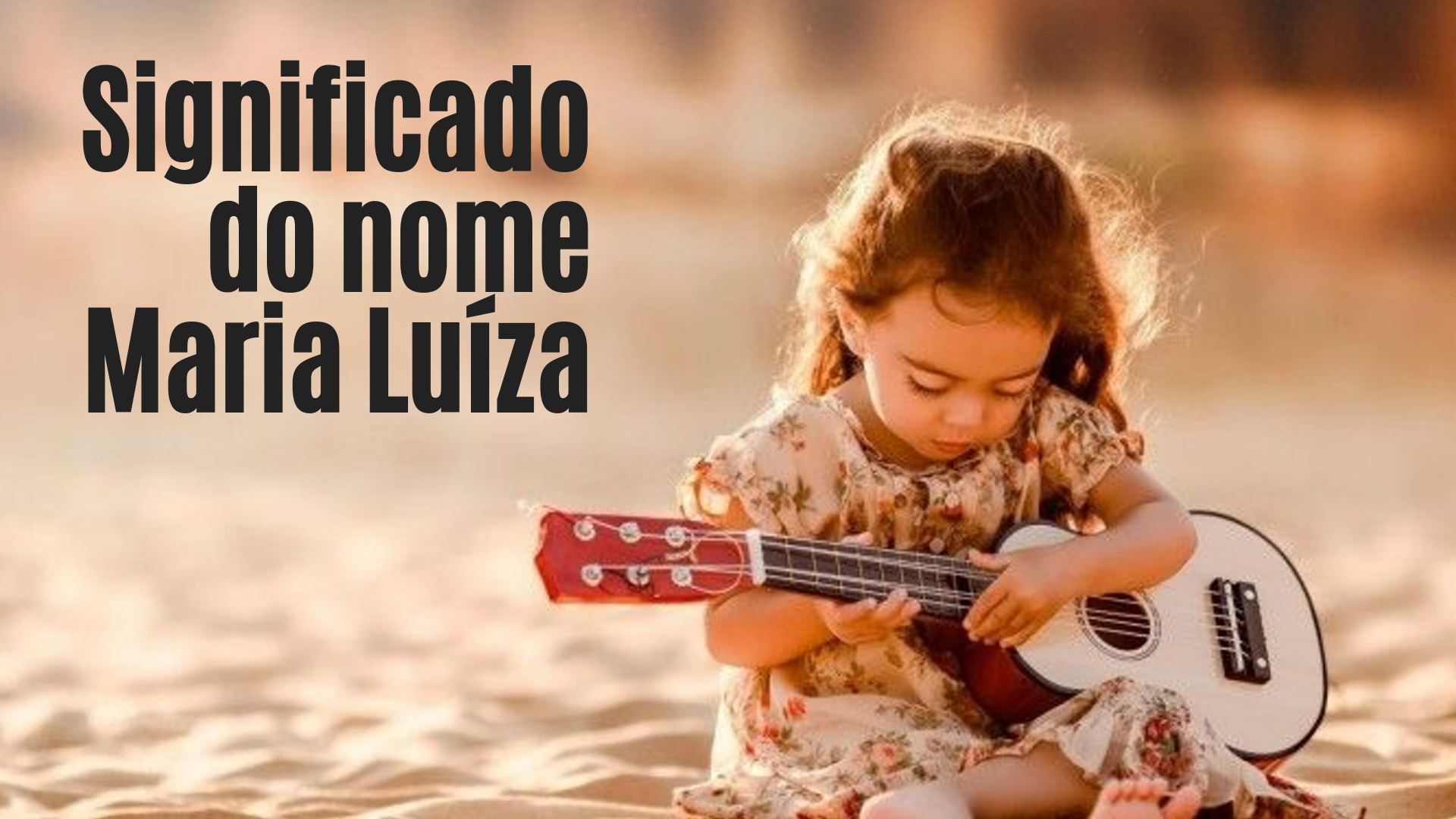 foto escrita significado do nome Maria Luiza