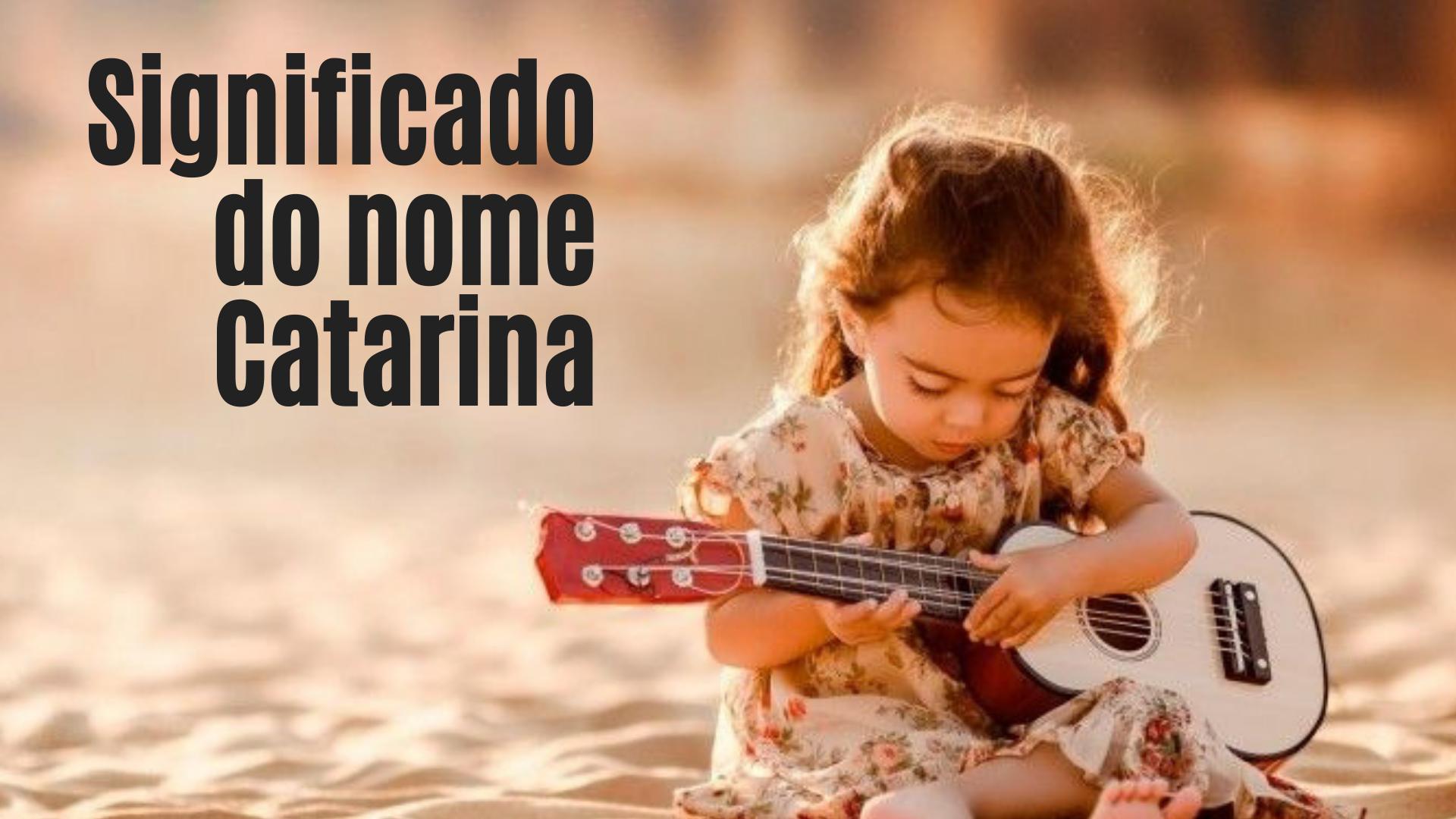 foto escrita significado do nome Catarina
