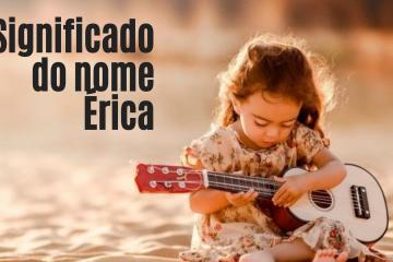foto escrita significado do nome Érica