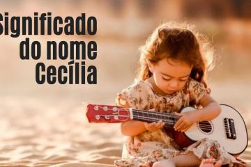 foto escrita significado do nome cecília