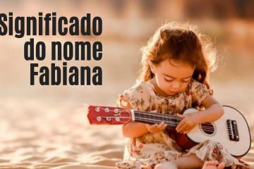 foto escrita significado do nome fabiana