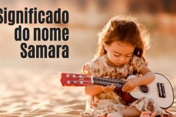 foto escrita significado do nome Samara