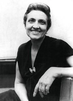 foto da escritora famosa Cecília Meireles