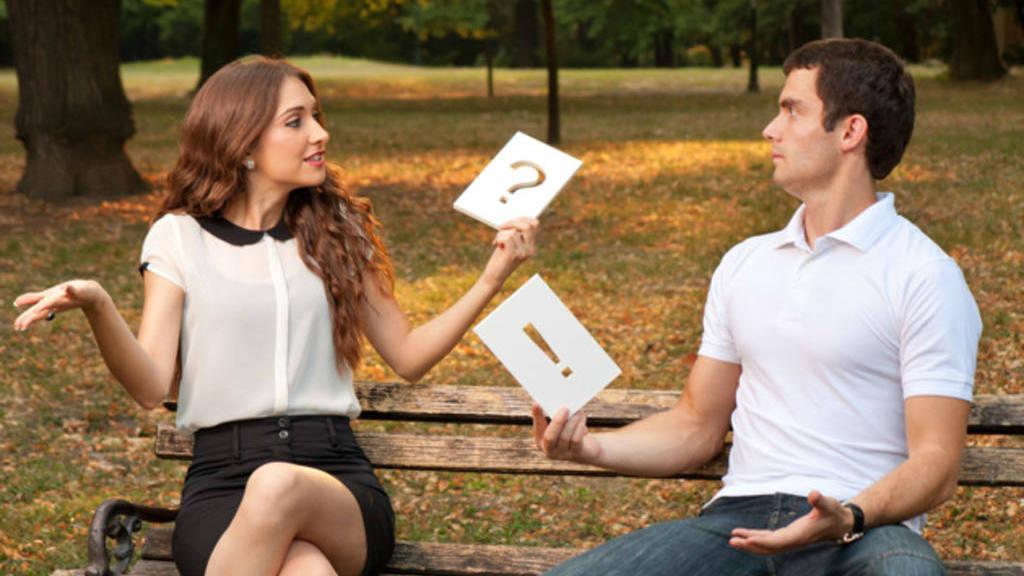 homem e mulher se conhecendo melhor