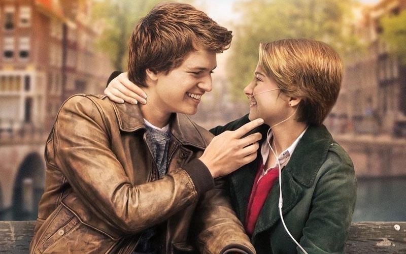 foto dos protagonistas do filme a culpa é das estrelas