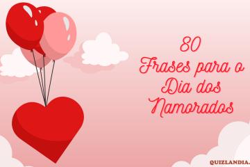 balões de desenho escrito frases para o dia dos namorados