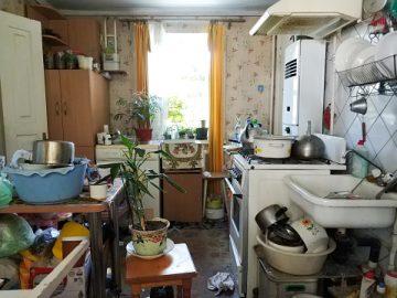 casa suja e bagunçada